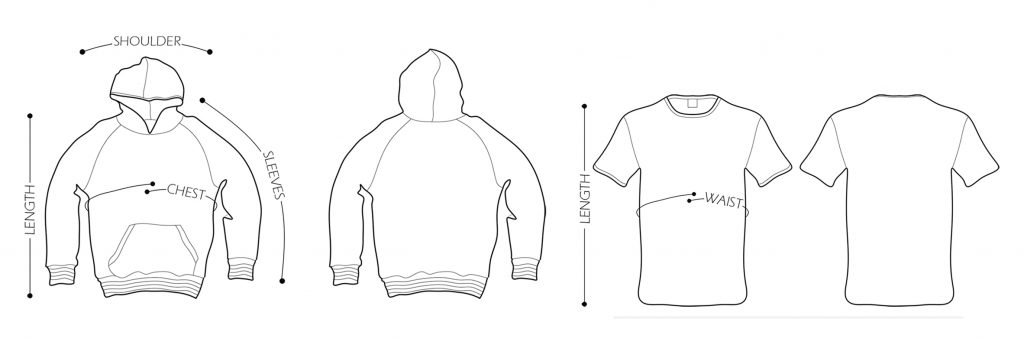 Hoodie & Shirt Illustration