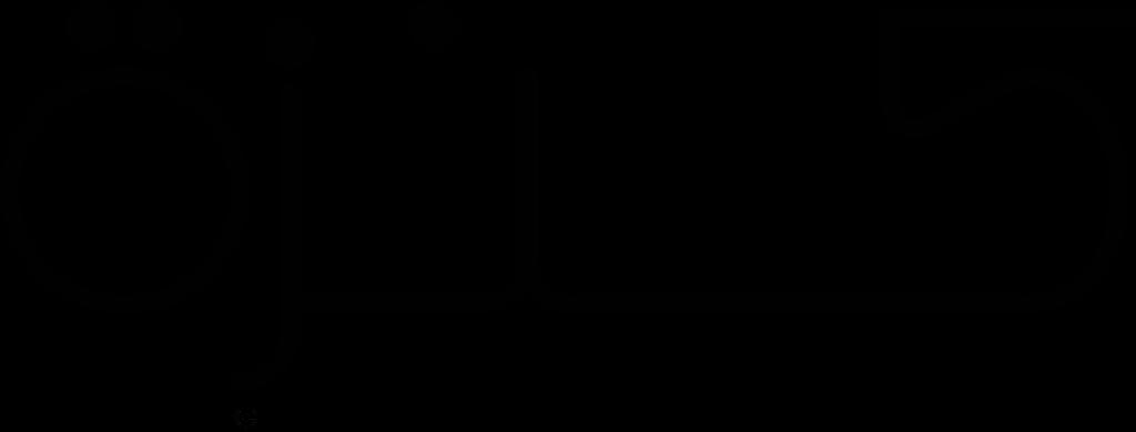 Kanzeh Black Logo PNG Transparent